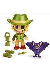 Pin y Pon Action Wild Figura con Murciélago 700016420