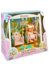 Barriguitas Balançoire avec Figurine de Bébé Famosa 700016267