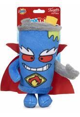 Superthings Peluche 12 cm. Mister King Série 3 Famosa 760019496