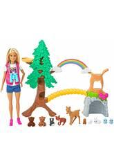 Barbie Exploradora Naturaleza Mattel GTN60