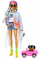 Barbie Extra Colorful Braids Mattel GRN29