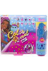 Barbie Muñeca Color Reveal Unicornio Mattel GXV95