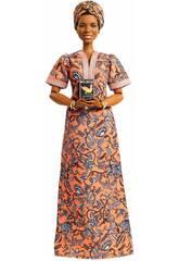 Série Femmes d?Exception de Barbie Poupée Maya Angelou Mattel GXF46