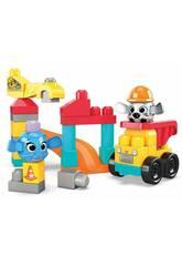 Megabloks Chantier de Construction Mattel GRV37