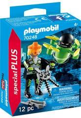 Playmobil Agent avec drone 70248