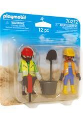 Playmobil Obreros 70272