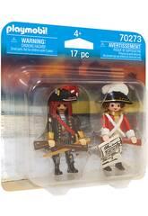 Playmobil Pirata y Soldado 70273