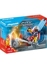 Playmobil Set Pompiers 70291