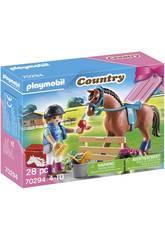 Playmobil Set Caballos 70294