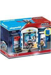 Playmobil Coffre Policer 70306