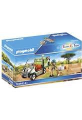 Playmobil Vétérinaire et Véhicule tout Terrain 70346