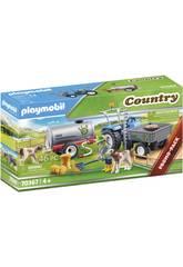 Playmobil Country Trattore Trailer con serbatoio 70367