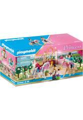 Playmobil Princess Leçon d'Équitation dans l'Étable 70450