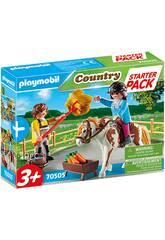 Playmobil Starter Pack Granja de Caballos Set Adicional 70505