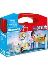 Playmobil Mallette Chambre Bébé 70531