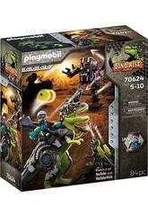 Playmobil Dinos T-Rex Bataille des Géants 70624