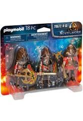 Playmobil Novelmore Set 3 Banditi di Burnham 70672