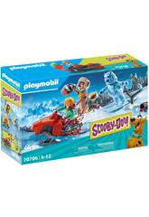 Playmobil Scooby-Doo Aventura com Snow Ghost 70706