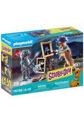 Playmobil Scooby-Doo Aventura con Black Night 70709