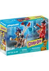 Playmobil Scooby-Doo Aventura con Ghost Clown 70710