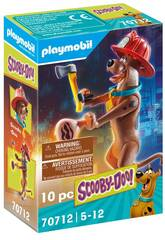Playmobil Scooby-Doo Figura Coleccionable Bombero 70712