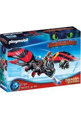Playmobil Dragon Racing Hiccup et Toothless 70727