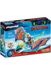 Playmobil Como Treinar o seu Dragão Racing Astrid e Tormenta 70728