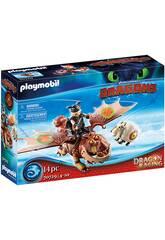 Playmobil Dragon Racing Kite et Foreman 70729