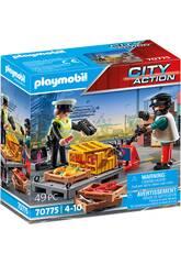 Playmobil City Action Control Aduanero 70775