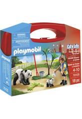 Playmobil Spirit Mallette Gardien de Pandas 70105