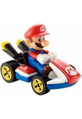 Hot Wheels MarioKart Vehículo Mario Mattel GBG26