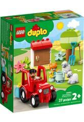 Lego Duplo Town Tractor y Animales de la Granja 10950