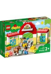 Lego Duplo Town Establo con Ponis 10951