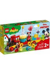 Lego Duplo Disney Tren de Cumpleaños de Mickey y Minnie LEGO 10941