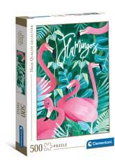 Puzzle 500 Flamingos Clementoni 35101