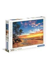 Puzzle 500 Paradise Beach Clementoni 35058