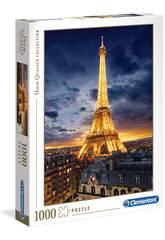 Puzzle 1000 Torre Eiffel Clementoni 39514