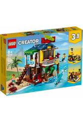 Lego Creator La maison sur la plage du surfeur 31118