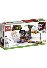 Lego Super Mario Ensemble d?extension La rencontre de Chomp dans la jungle 71381