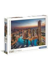 Puzzle 1500 Dubai Marina Clementoni 31814