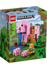 Lego Minecraft La Casa Cerdo 21170