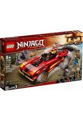 Lego Ninjago Le chargeur Ninja X-1 71737
