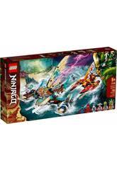 Lego Ninjago Battaglia navale catamaran 71748