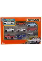 Matchbox Pack 9 Veículos Mattel X7111