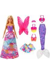 Barbie Dreamtopia Fashion Looks Mattel GJK40