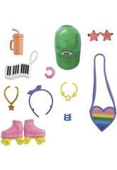 Barbie Modas Accesorios Patinaje Mattel GRC12