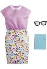 Barbie Ropa Profesiones Maestra Mattel GRC54
