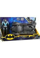 Batman Bat-Tech com Batmobile 30 cm. Bizak 6192 7836