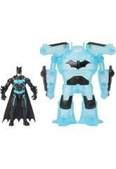 Batman Figurine 10 cm. avec Armure Bat Tech Bizak 6192 7829
