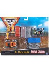 Monster Jam 1:70 Set de Tours Bizak 6192 8725